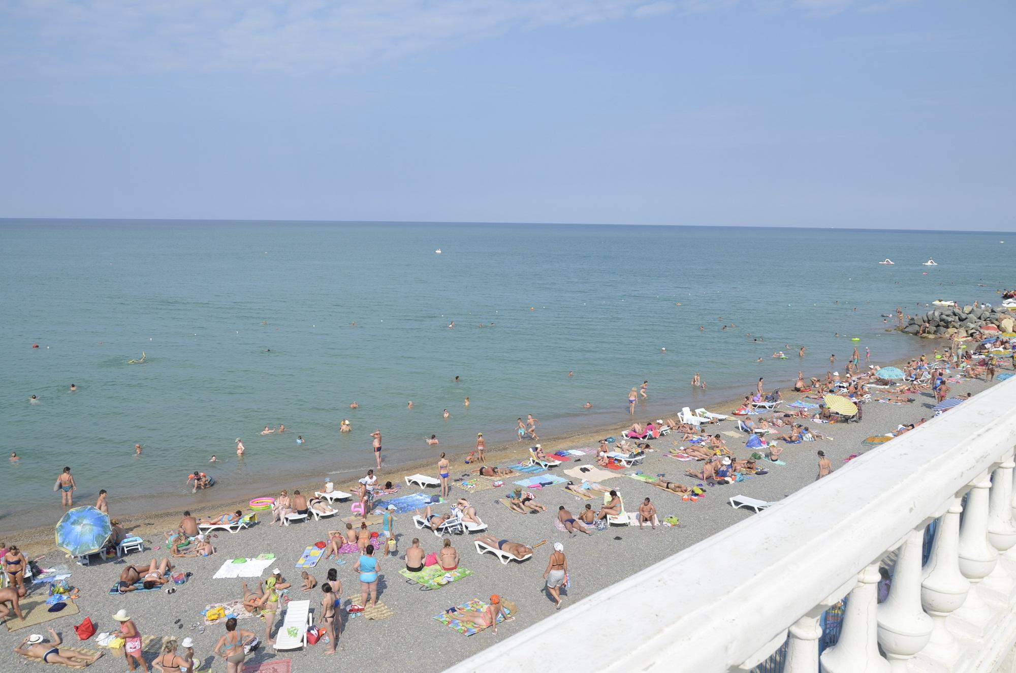 Доступный отдых на пляже Николаевки