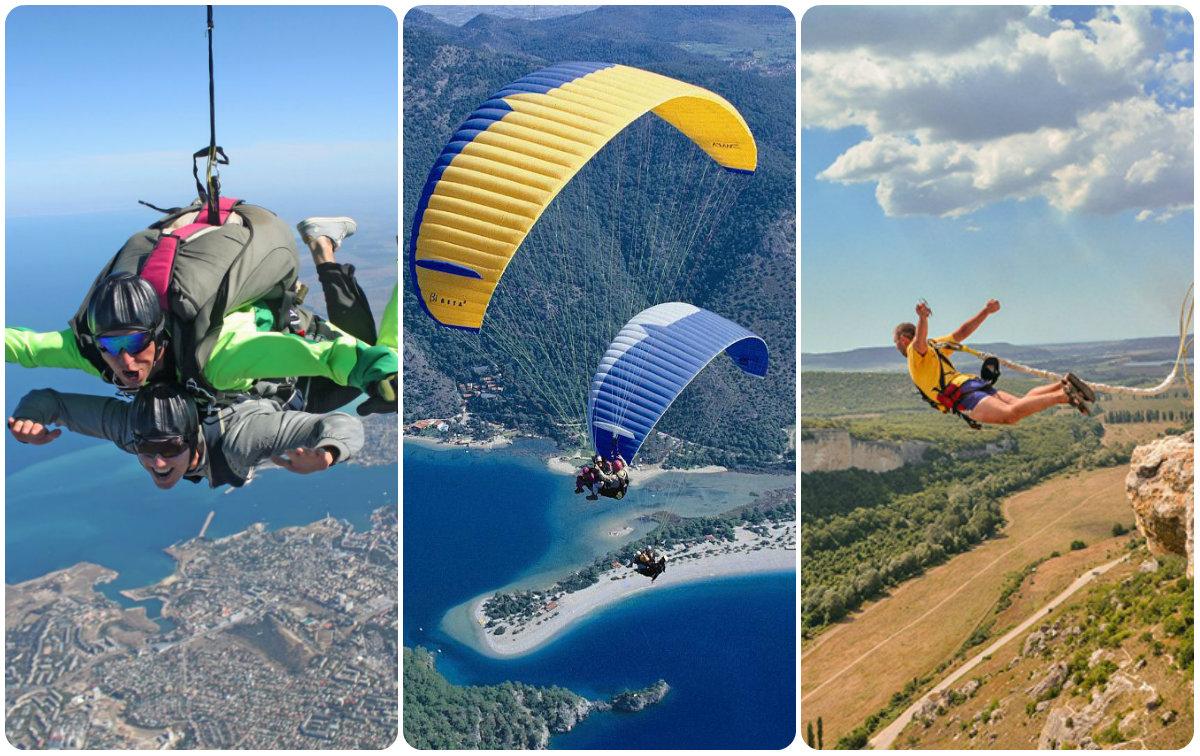 Попробуйте прыжок с парашютом в Крыму!